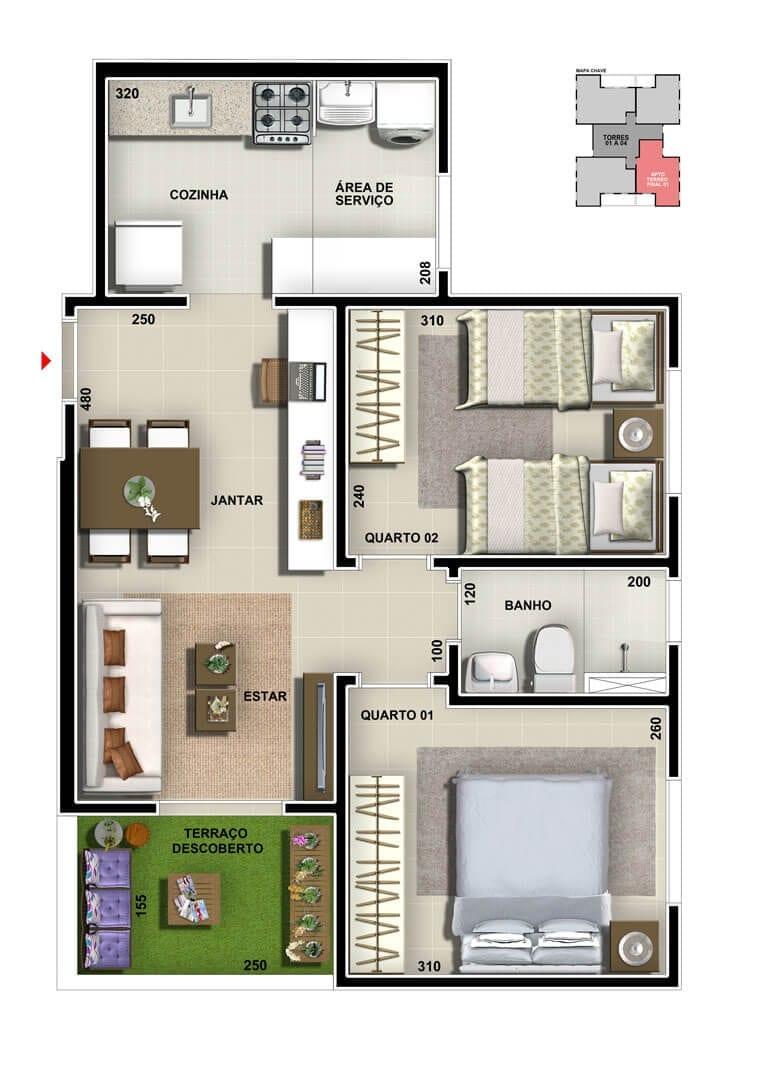 vic-engenharia-master-tower-sevilha-apartamento-terreo