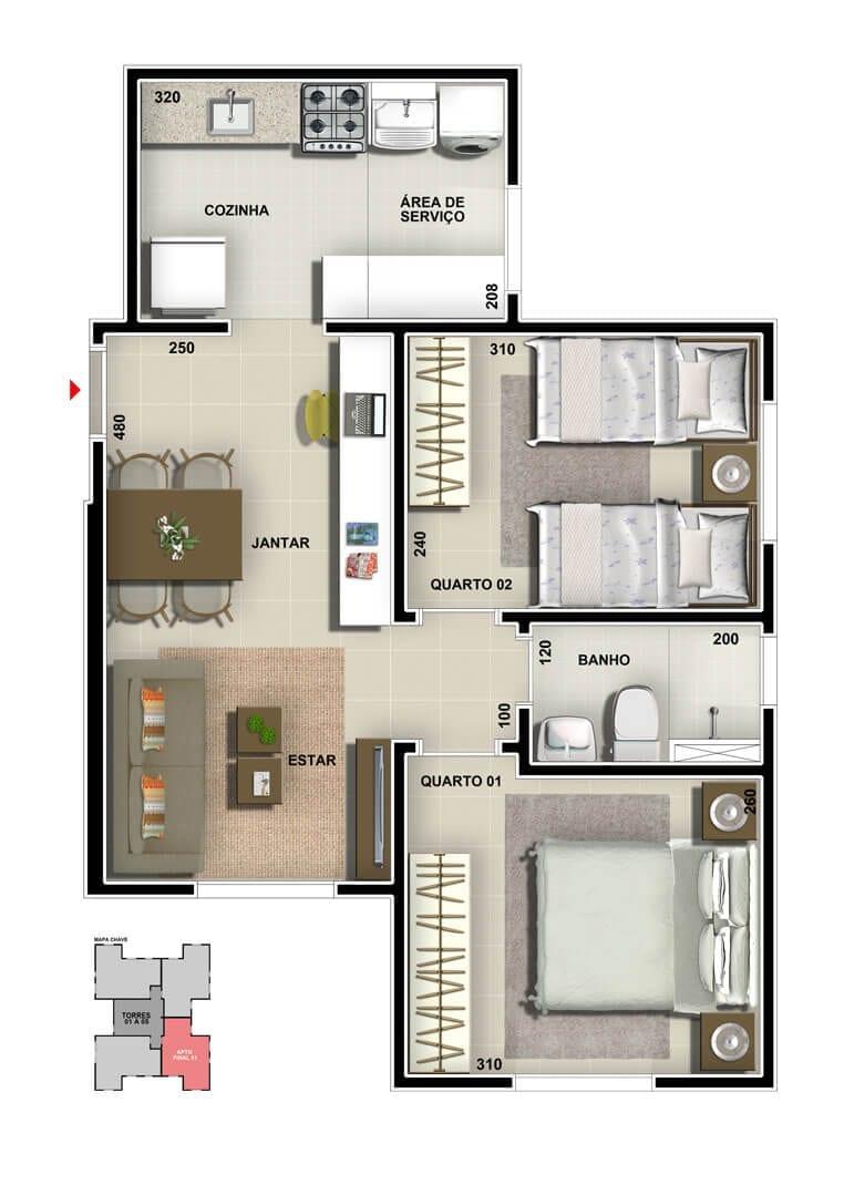 vic-engenharia-master-tower-sevilha-apartamento-tipo