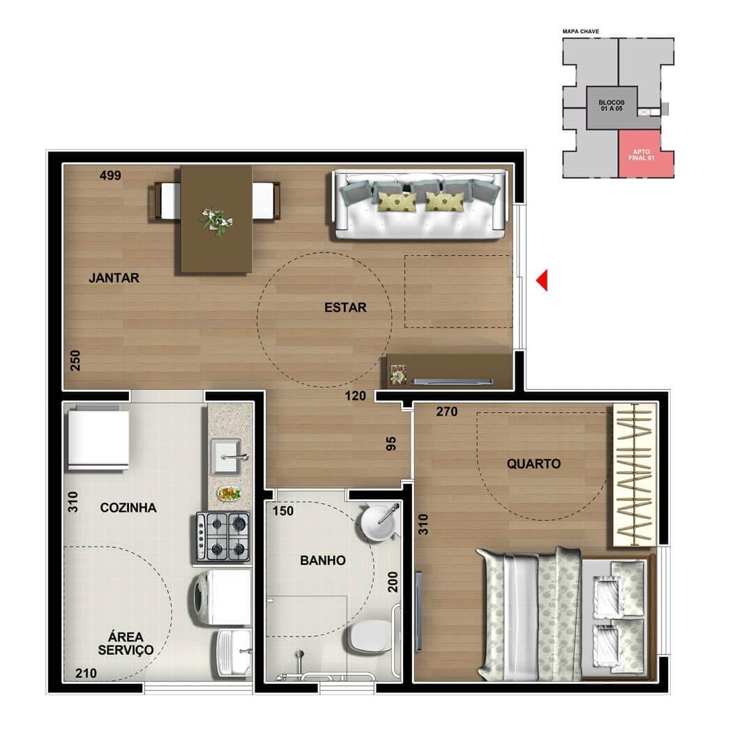 vic-engenharia-master-tower-topazio-apartamento-terreo-pne-um-quarto