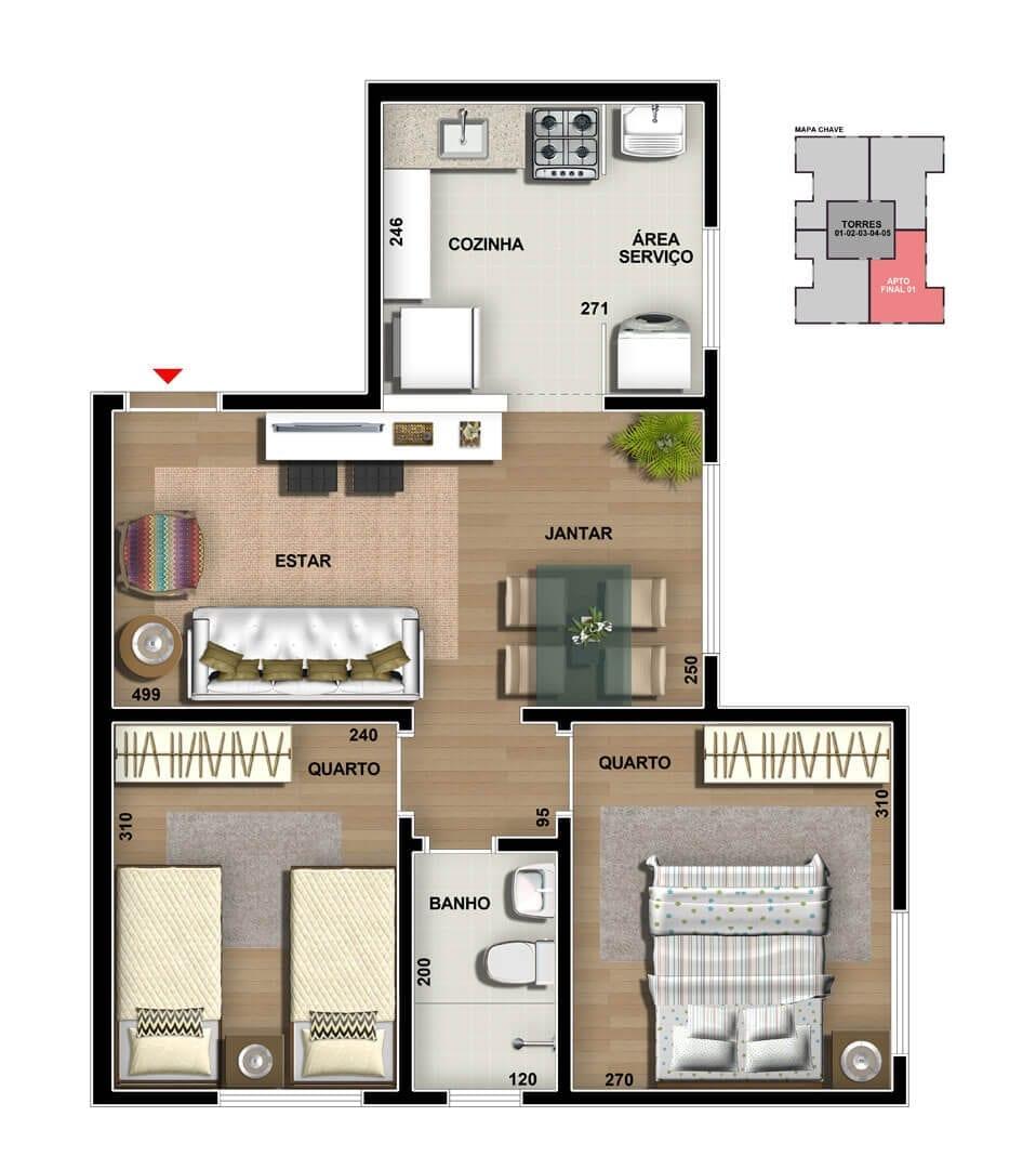 vic-engenharia-master-tower-topazio-apartamento-tipo-cozinha-americana