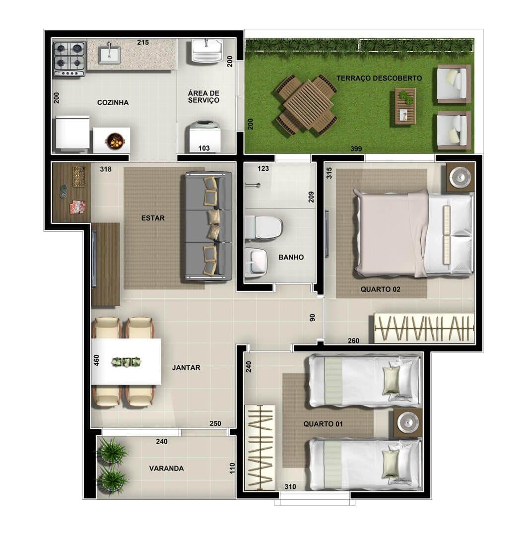 vic-villa-bella-lagoa-apartamento-area-privativa