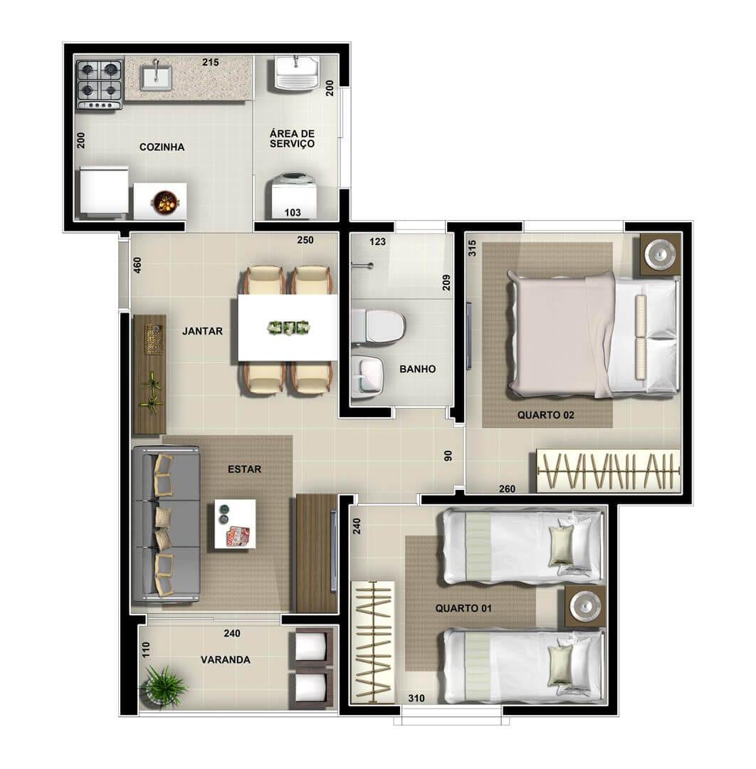 vic-villa-bella-lagoa-apartamento