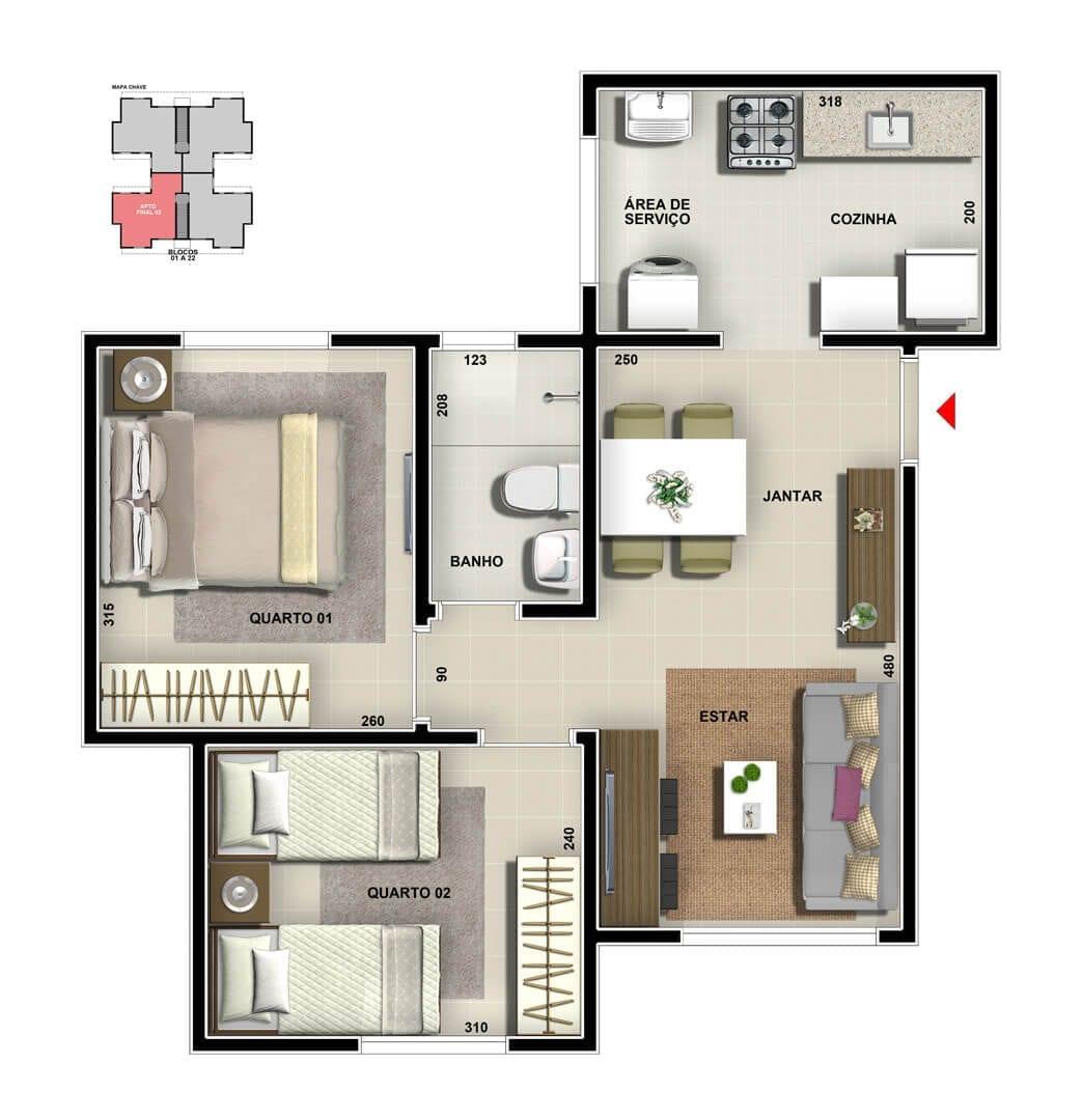 vic-villa-bella-milao-apartamento-tipo