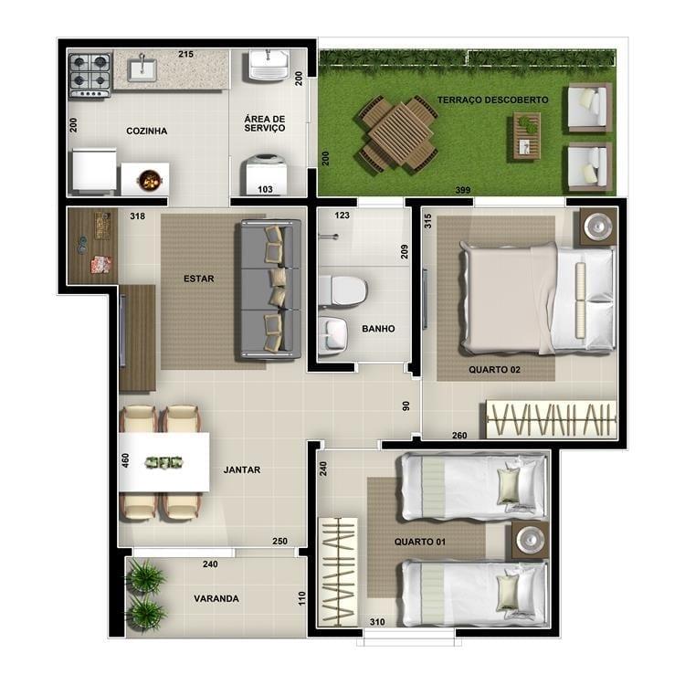 villa-bella-lagoa-apartamento-area-privativa