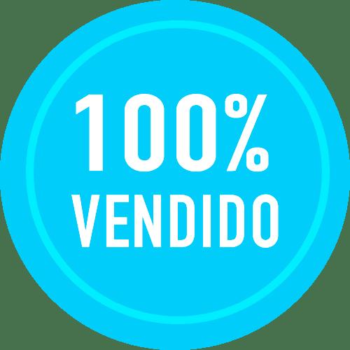 100% Vendido