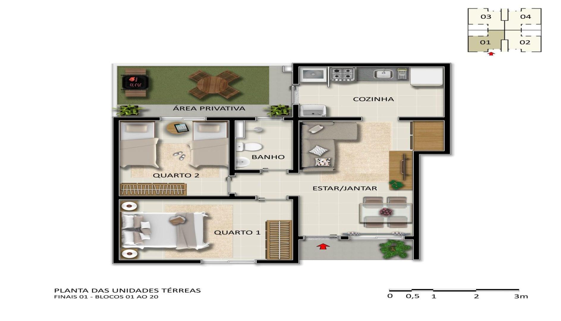 vic-engenharia-villa-bella-turim-apartamento-terreo