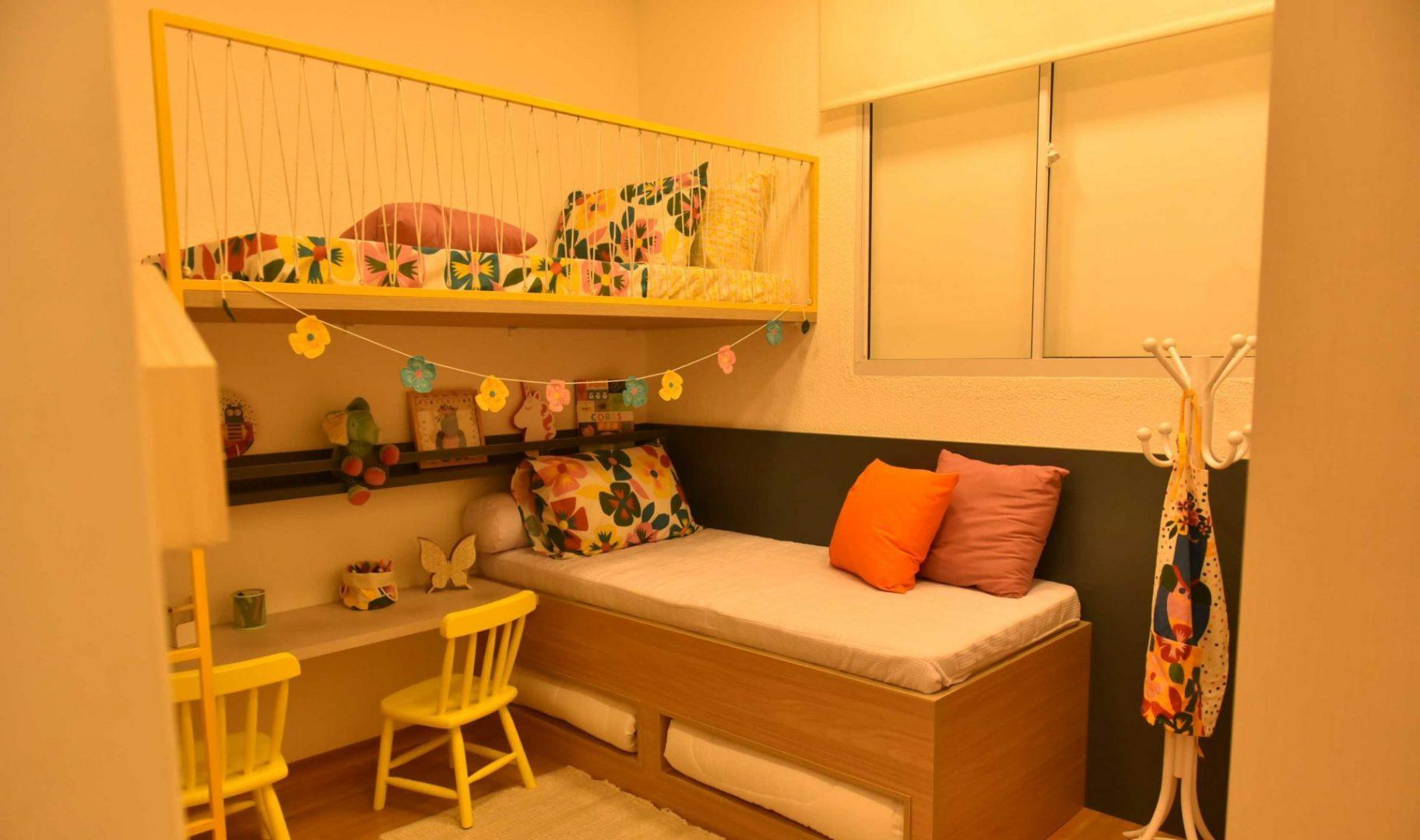 Como mobiliar e decorar um quarto de criança gastando pouco